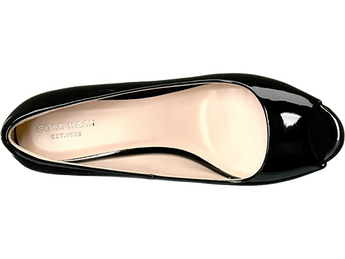 cole haan sadie open toe wedge 65mm