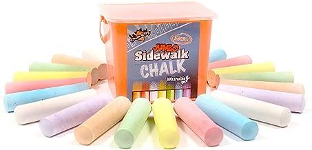 veggie sidewalk chalk