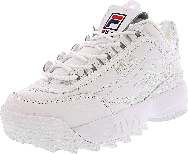 Fila Women's Disruptor Ii Embroidery Sneaker