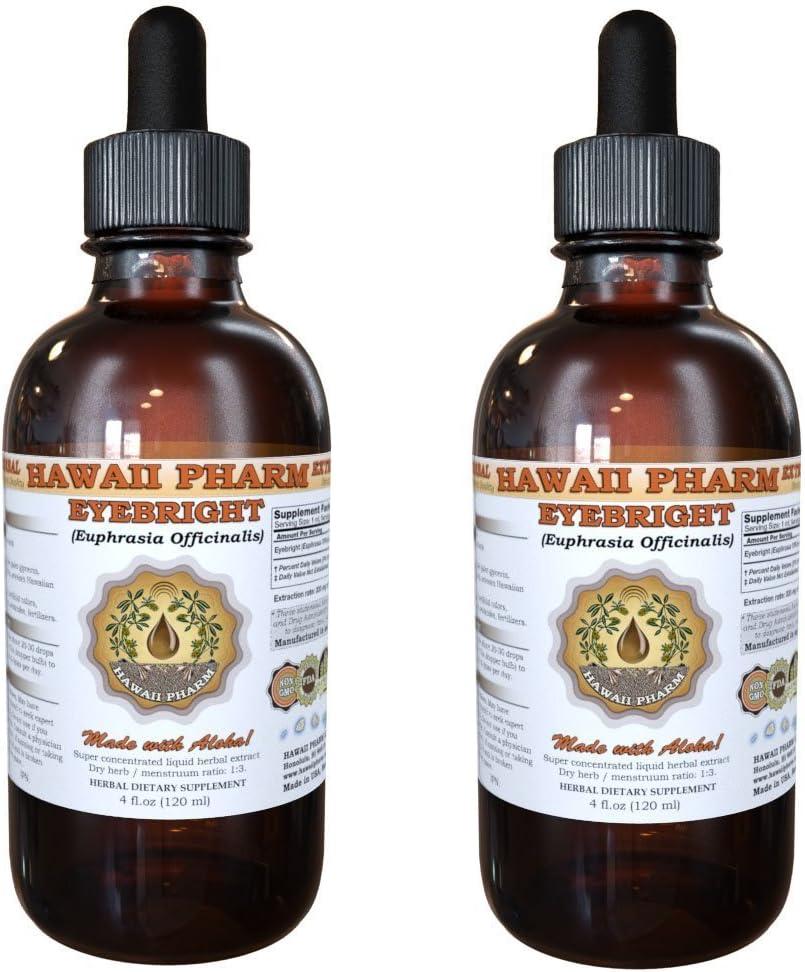Eyebright Euphrasia officinalis Max 44% OFF Liquid Extract oz Luxury goods 2x2
