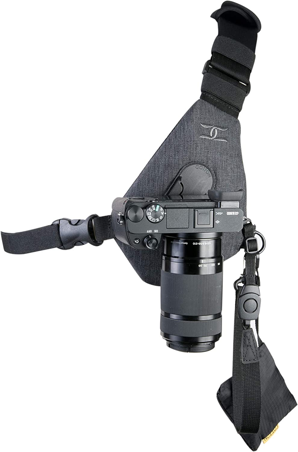 Cotton Carrier Skout Sling Style Harness Camera - Grey One Ranking TOP19 Super intense SALE for
