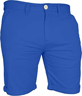 westAce Mens Chino Shorts Casual Cargo Combat Flat Front 100% Cotton Half Pant