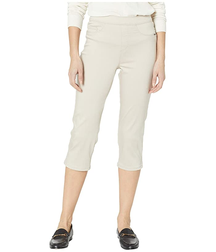 FDJ French Dressing Jeans  D-Lux Denim Pull-On Capris in Almond (Almond) Womens Jeans