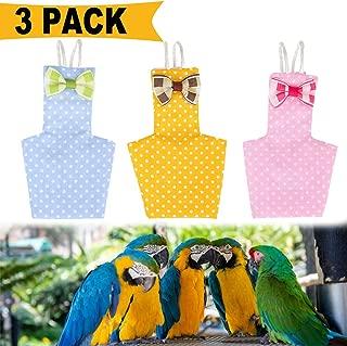 3 Pack Bird Diaper, Washable Breathable Parrots Nappies, Soft Birds Flight Suits
