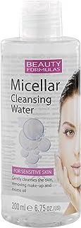 ماء تنظيف ميسيلار للبشرة الحساسة من بيوتي فورميولاز، 200 مل