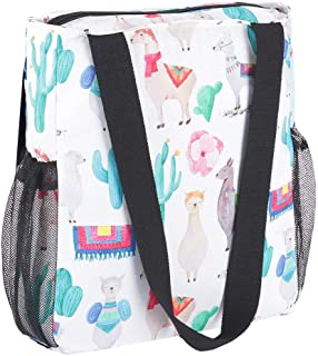 Enterlife Floral Tote Bag- Foldable Lightweight Waterproof Shoulder Bag Beach Gym Travel Shopping Daily Large Tote Bags(Cactus)
