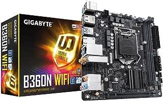 GIGABYTE B360N WiFi (LGA1151/Intel/B360/CNVi 802.11ac Wave2 2T2R Wi-Fi/Mini ITX/DDR4 Motherboard)
