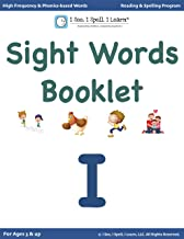 'I' - Sight Words Booklets for Kindergarten, 1st Grade & Dyslexia: High Frequency words | Dolch List | Phonics-based words