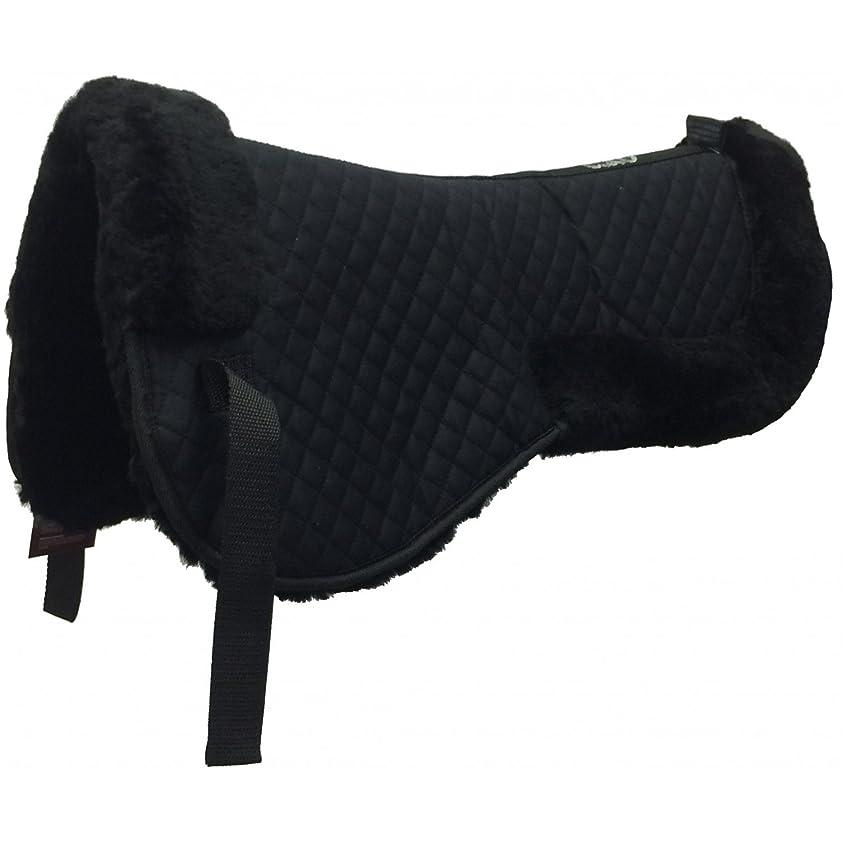 アークベリーモナリザEKKIA(エキア) 乗馬用具 ブラック CSO SHEEPSKIN BACK PAD BLACK 207000002 207000002