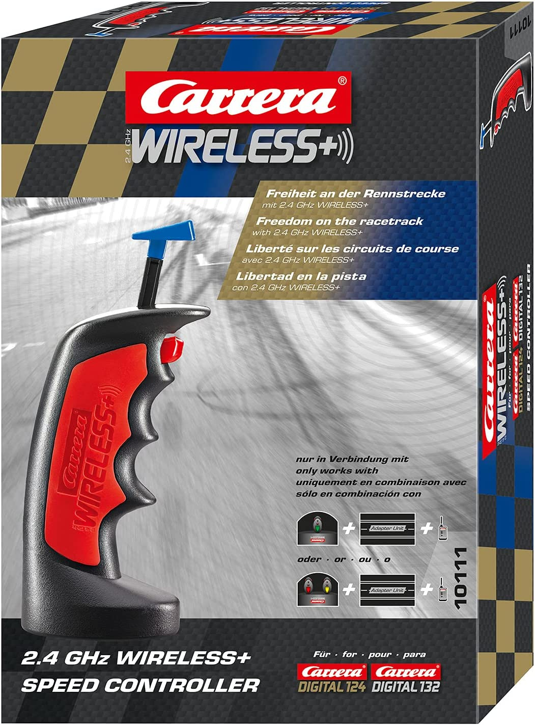 Carrera 10111 Single 2.4GHz Wireless Acce Challenge the lowest price of Japan Controller Hand Ranking TOP2 Remote