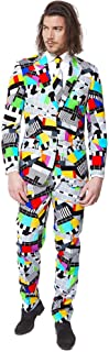 OppoSuits OSUI-0010-EU52 Crazy Prom Suits for Men – Testival – Comes with Jacket, Pants and Tie in Funny Designs, 42