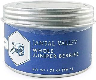 Jansal Valley Whole Juniper Berries, 1.75 oz