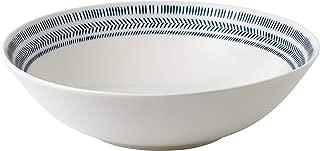 Royal Doulton ED Chevron Cobalt Blue Serving Bowl