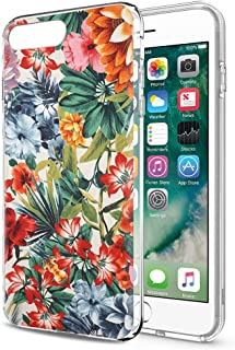 0c2e376a65e Eouine Funda iPhone 8 Plus, Funda iPhone 7 Plus Cárcasa Silicona 3D  Transparente con Dibujos