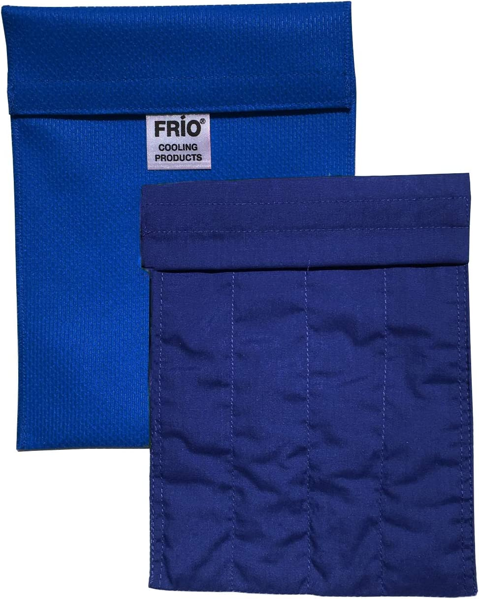 FRIO Large Insulin Cooling Carrying Case/Wallet - Blue - Evaporative Cooler - Keeps Insulin Cool Without Ever Needing ice Packs or Refrigeration! Accept NO Imitation!-Low Shipping Rates-: Health & Personal Care