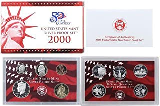 2000 us mint uncirculated coin set