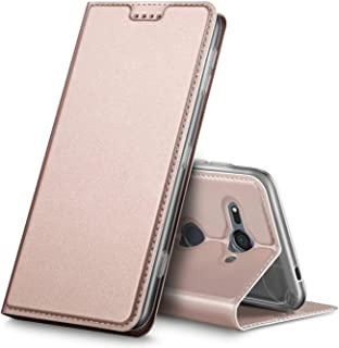 Verco mobilfodral för Sony Xperia XZ2 Compact, Premium bokväska flip fodral för Sony XZ2 Compact skal plånboksfodral pu lä...