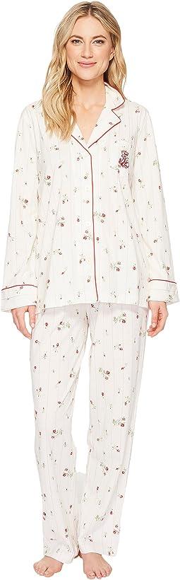 LAUREN Ralph Lauren - Folded Classic Knit Pajama
