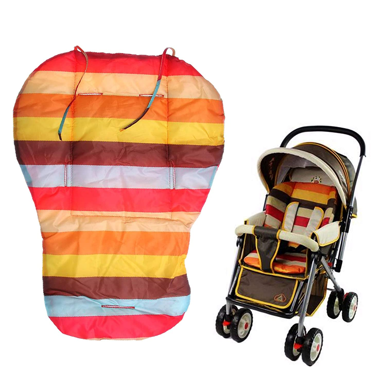 ZIIVARD Baby High Chair Seat Cushion Cotton Waterproof Rainbow Baby Stroller Covers Pad,27.66X20.86X0.78Inch