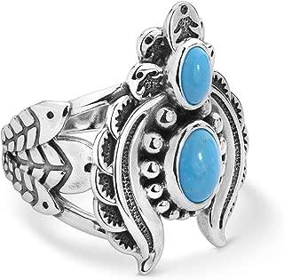 navajo mens turquoise rings