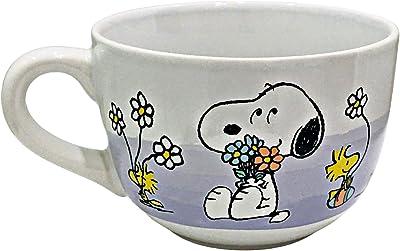 Peanuts Gang Snoopy Woodstock Jumbo Ceramic Easter Coffee /Soup Mug | 24 oz. Capacity
