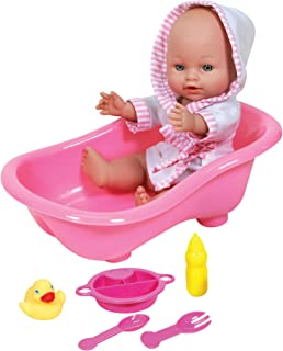 Baby Ellie and Friends Baby Doll and Bath Set