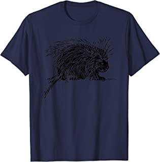Porcupine Lovers Zoo School trip Animal Quill T-Shirt