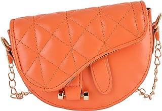 Children's Shoulder Bag, Cute Fashion Lightweight Shoulder Handbag Purse Toddlers Handbags for Children(Orange)