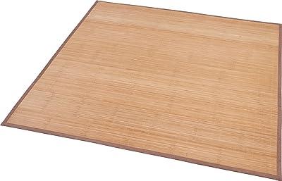 大島屋 竹 ラグ コルト 接触冷感 ふんわり ブラウン 約180×240cm