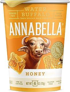 A2 Water Buffalo Yogurt (Honey) 6oz Cup - 12 Cups - A2/A2 Water Buffalo Milk, Non-GMO, Gluten Free, 100% Grass Fed, Higher...