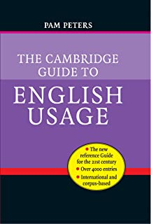 The Cambridge Guide to English Usage (English Edition)