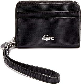 6bbcd6dbc0 LACOSTE Portefeuille en Similicuir pour Dames - XS Wristle Zip Wallet,  8,5x12x3 (