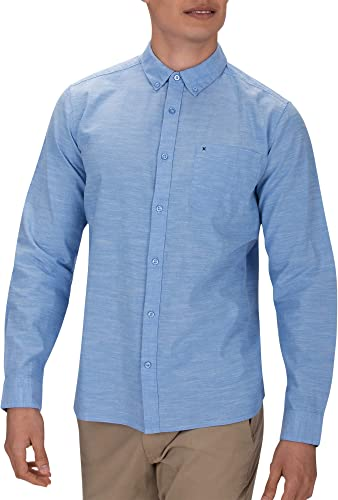 Hurley M One&Only Woven L S - Chemises - Homme