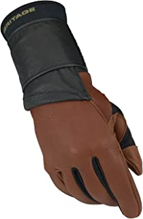Heritage Pro 8.0 Bull Riding Glove (Saddle Brown)