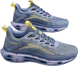 Men's Running Shoes Lightweight Breathable Workout Footwear Walking Sports Tennis Sneaker