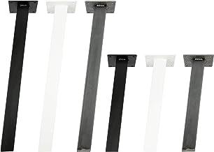 4x Natural Goods Berlin STANDAARD Legs vierkante metalen tafelpoten massief | tafelframe vierkant | tafelonderstel | tafel...