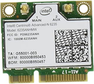 Intel Network 6235AN.HMWWB Centrino WiFi Card Half Mini PCI Express Advanced-N 6235 Dual Band Bluetooth