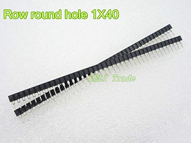 GFYSHIP 20pcs lot 800pin Single famous Row Hole Round Sale price Crystal 1X40 Pin
