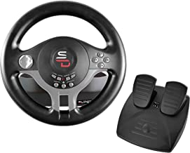 Subsonic Superdrive - Driving Wheel with pedals and paddles تعویض دنده برای نینتندو سوییچ - PS4 - Xbox One - PC