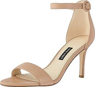 Nine West Women's Fashion Sandal Heeled, Blush, 5.5 M US