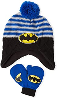 Hat & Mittens Set Toddler Boys Blue