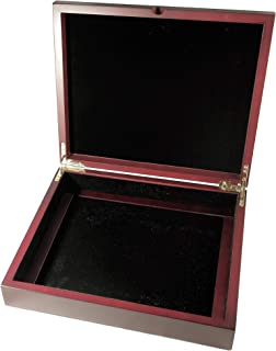 Two Tray Coin Display Box for Capsule, Certified, Slab-Style or Challenge Coins, No Trays