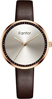 Ladies Watches Luxury Elegant Leather Strap Quartz Wristwatch Fashion Dress Lady Women Watch