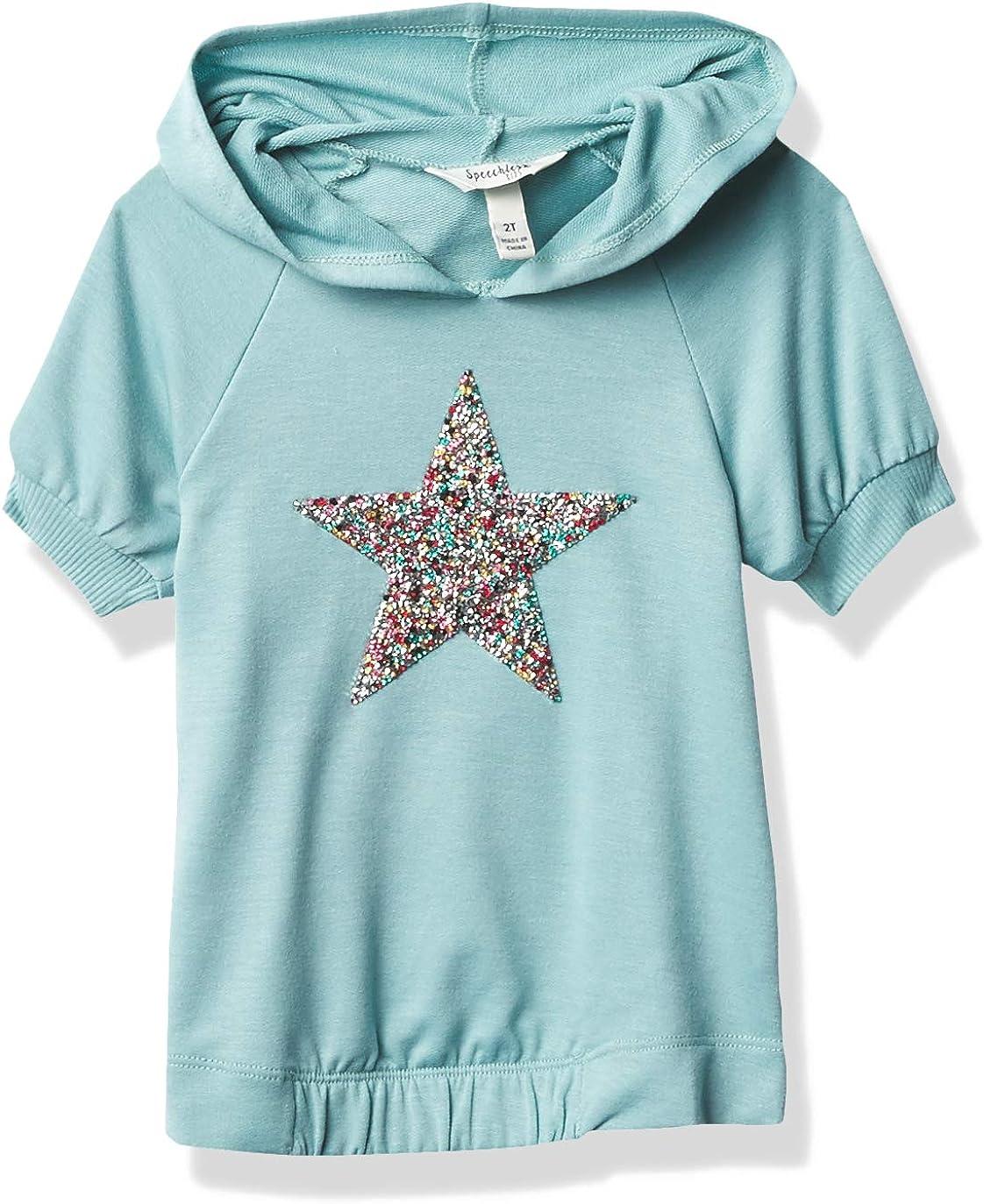 Max 87% OFF Speechless Girls' Short Cheap bargain Hoodie Sweatshirt Sleeve