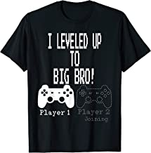 I leveled up to Big Bro!, Gamer new brother T-Shirt