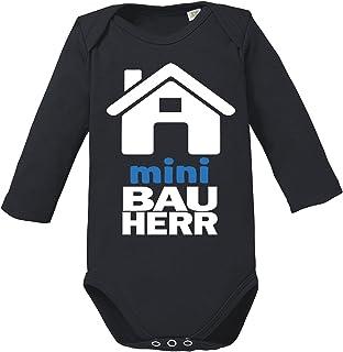 Ezyshirt Mini Bauherr/in Baby Body Longsleeve