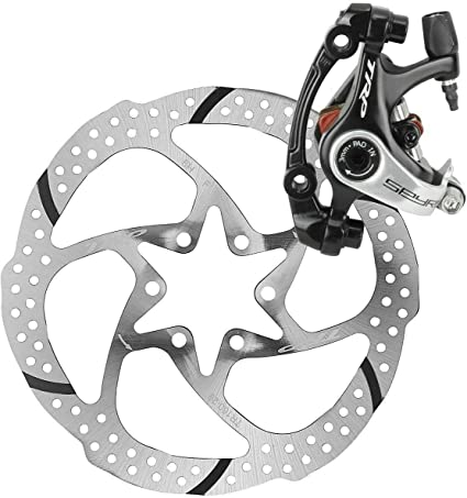 TRP Spyke Alloy Mechanical Disc Brake Caliper Set Front and Rear 160mm Rotor MTB
