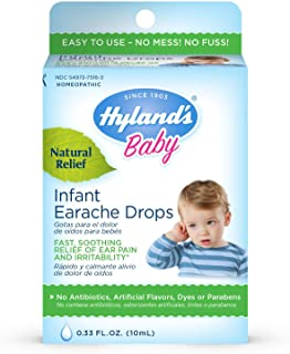 Sponsored Ad - Allergy Relief for Baby by Hyland's, Infant Earache Drops, Natural Homeopathic Earache Pain Relief from All...
