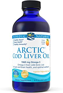 Nordic Naturals - Arctic CLO, Heart and Brain Health, and Optimal Wellness, Orange8 Fl Oz (Pack of 1)