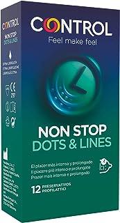 Control Preservativos Non Stop Dots & Lines 12 Uds 12